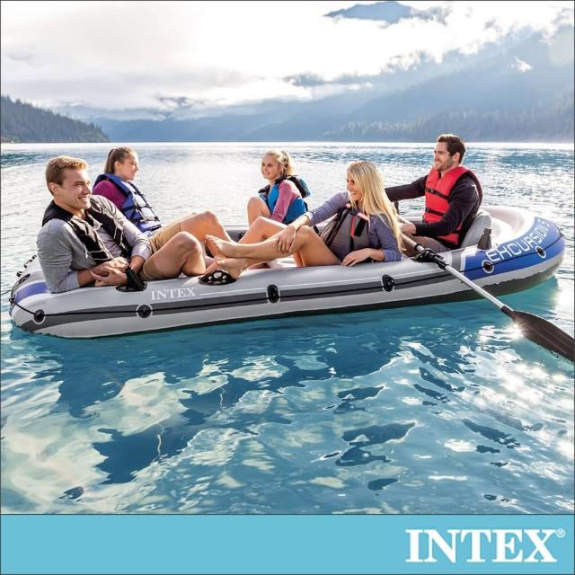【INTEX】EXCURSION 5人座休閒橡皮艇(68325)