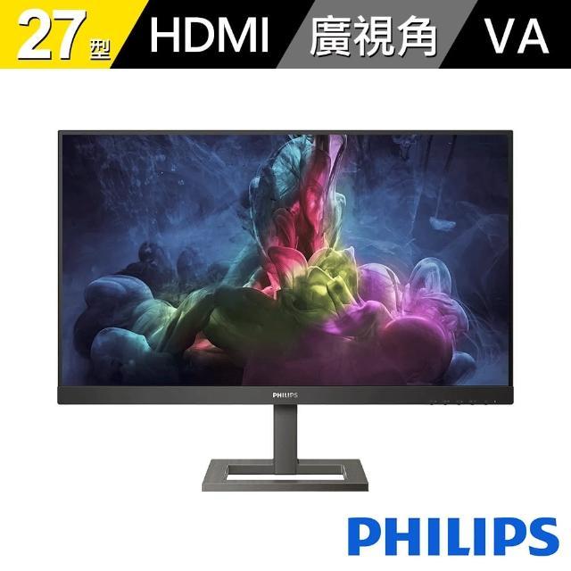 【Philips 飛利浦】27型 165Hz快速更新 戲顯示器(272E1GAEZ)