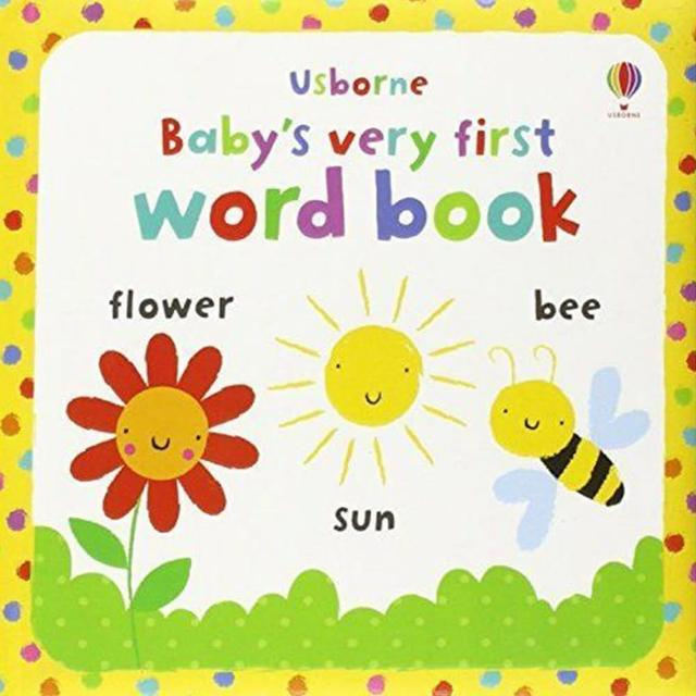 【Song Baby】Baby's Very First Word Book 小寶貝的第一本單字小書