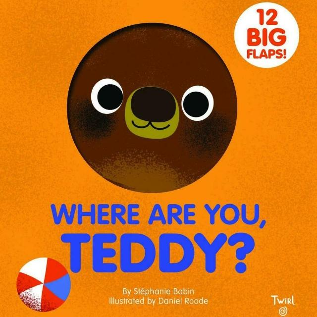 【Song Baby】Where Are You Teddy?泰迪在哪裡(趣味翻翻書)