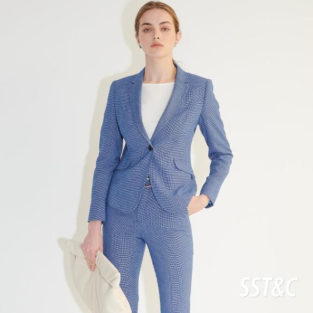 【SST&C】皇家藍方領單釦西裝外套7162104007