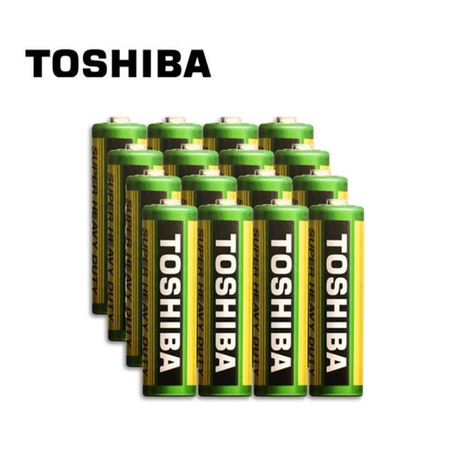 【TOSHIBA 東芝】環保3號電池 16入