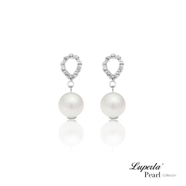 【大東山珠寶】第一夫人系列 綻放綺麗 南洋貝寶珠 925純銀 耳環(硨磲貝珠)