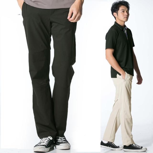 【遊遍天下】男款彈性速乾機能長褲 三色(M-5L)