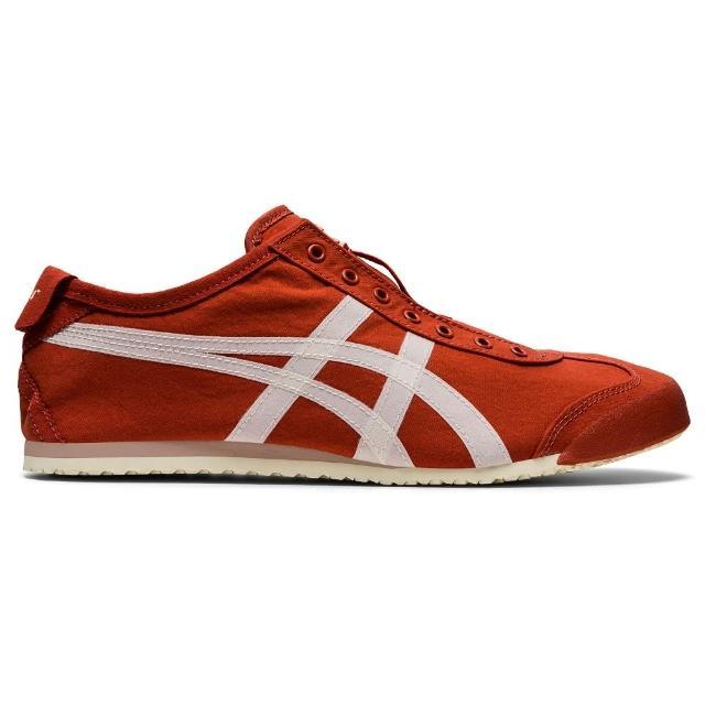 【Onitsuka Tiger】鬼塚虎 官方旗艦店 MEXICO 66 SLIP-ON 休閒鞋 紅色(1183B603-601)