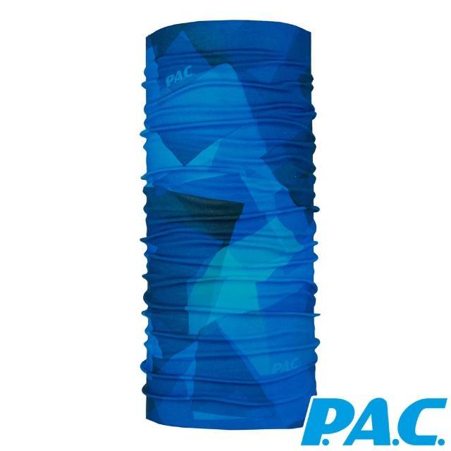 【ATUNAS 歐都納】經典無縫舒適透氣抗菌抗臭頭巾(PAC8810355深海/抗UV/運動/單車/快乾)