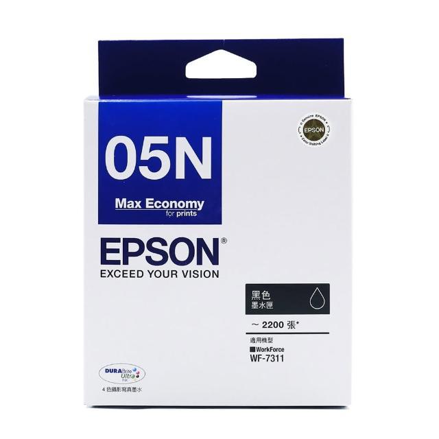 【EPSON】T05N 黑色墨水匣(T05N150/適用WF-7311)