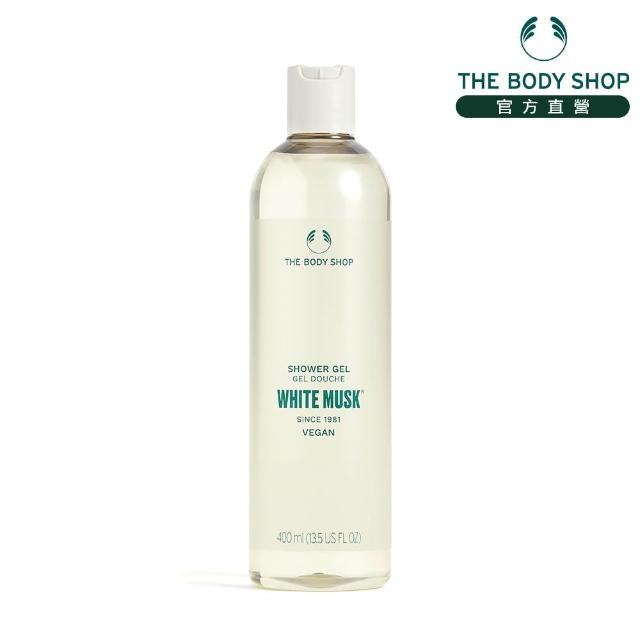 【THE BODY SHOP 美體小舖】白麝香沐浴膠(400ML)