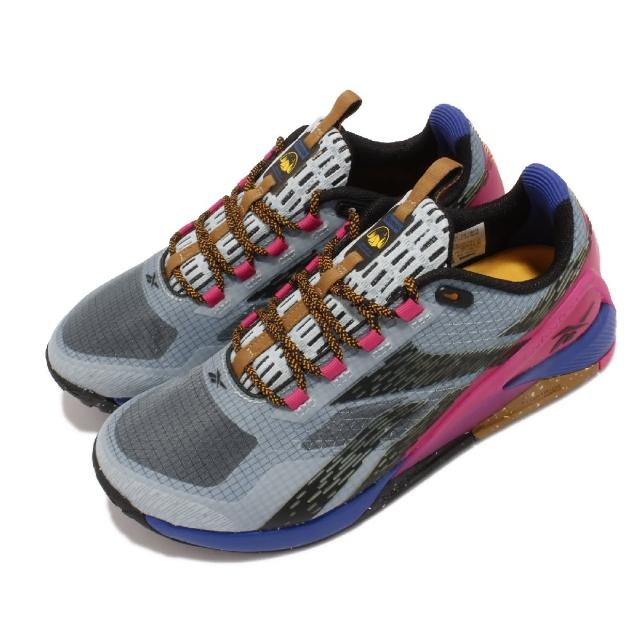 【REEBOK】訓練鞋Nano X1 TR Adventure 女鞋 室內外訓練 支撐 穩定 包覆 運動 灰黑 粉(H67963)
