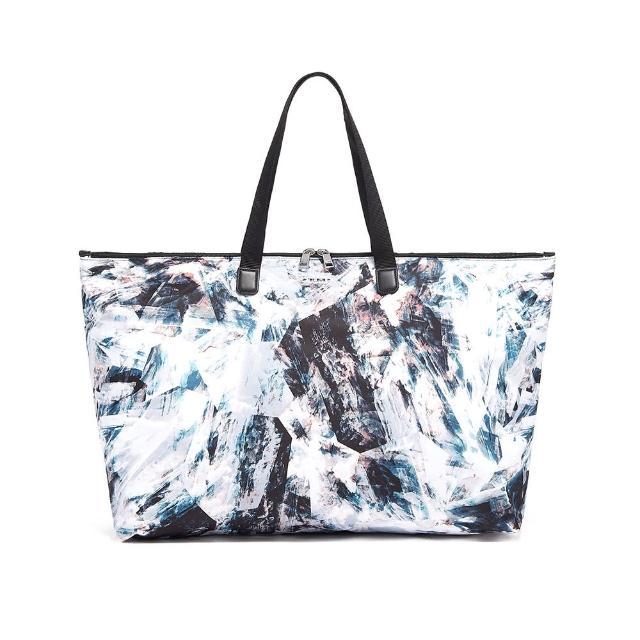 【TUMI】JIC 折疊托特包-水晶印花
