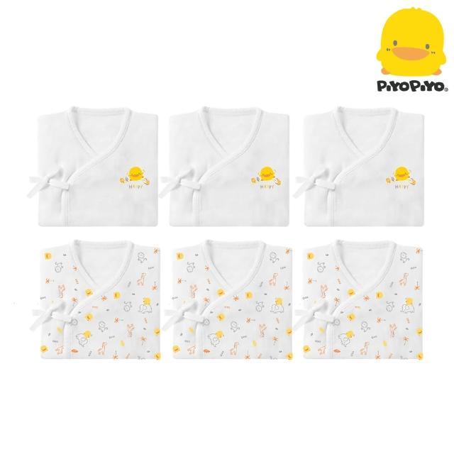 【Piyo Piyo 黃色小鴨】紗布衣6件組