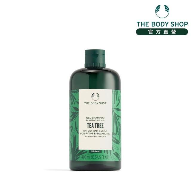 【THE BODY SHOP 美體小舖】茶樹淨化洗髮精(400ml)