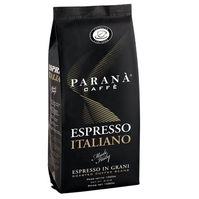 【PARANA 義大利金牌咖啡】即期品 義大利濃縮咖啡豆 1000克(歐洲咖啡品鑑協會金牌獎、義大利國家認證)