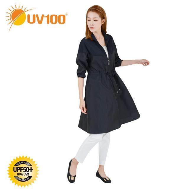 【UV100】抗UV-立領修身風衣外套-女AD20017