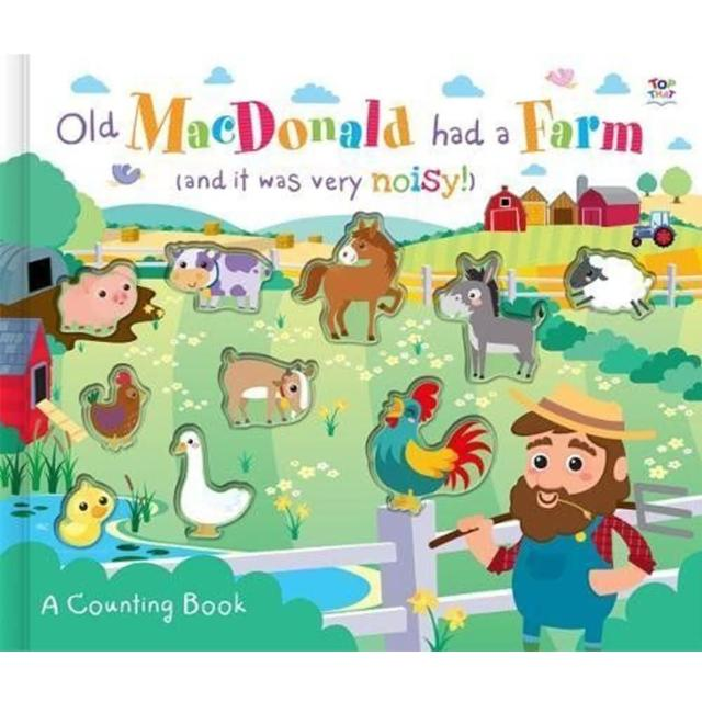 【Song Baby】Old Macdonold Had A Farm A Counting Book 王老先生有塊地(數數學習書)