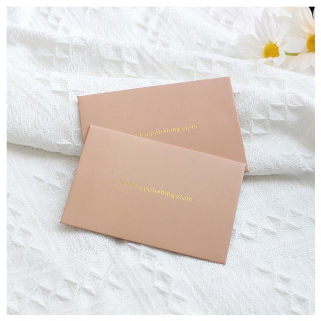 【HaNA 梨花】質感粉紅珠寶銀飾拭銀布.五張入組合
