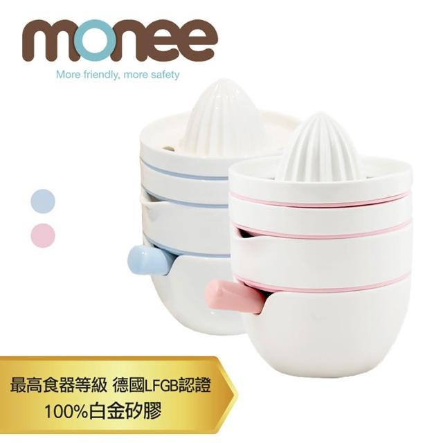 【monee】寶寶副食品 精美陶瓷研磨四件組(韓國高級陶瓷、白金矽膠)