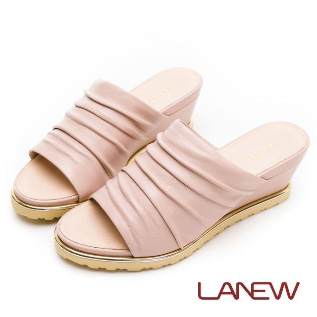 【La new】輕量楔型鞋 拖鞋(女56270837)