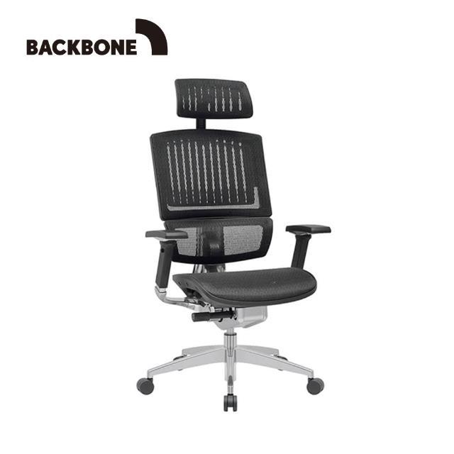 【Backbone】King Kong人體工學椅 旗艦椅(特強網款 文墨黑)
