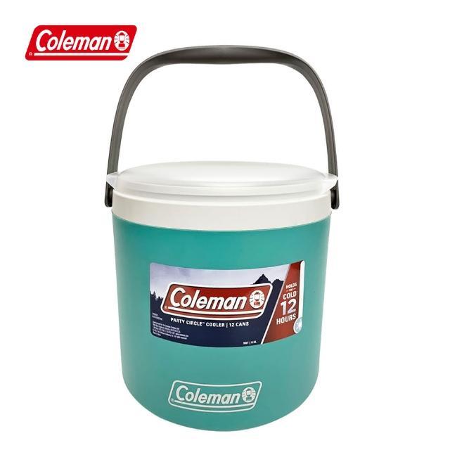 【Coleman】8.5L派對圓形冰桶 / 海沫綠(CM-33044M000)