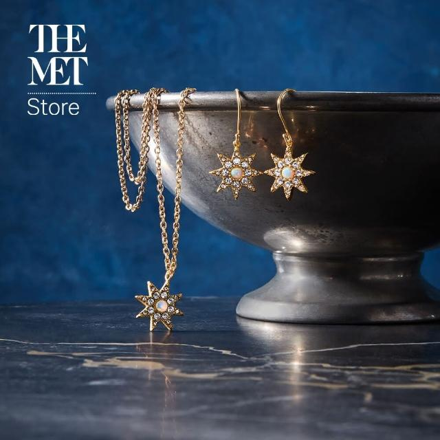 【Fubon Art 富邦藝術】鄂圖曼 鍍金星星 項鍊(The Met Store/時尚/珠寶/首飾)