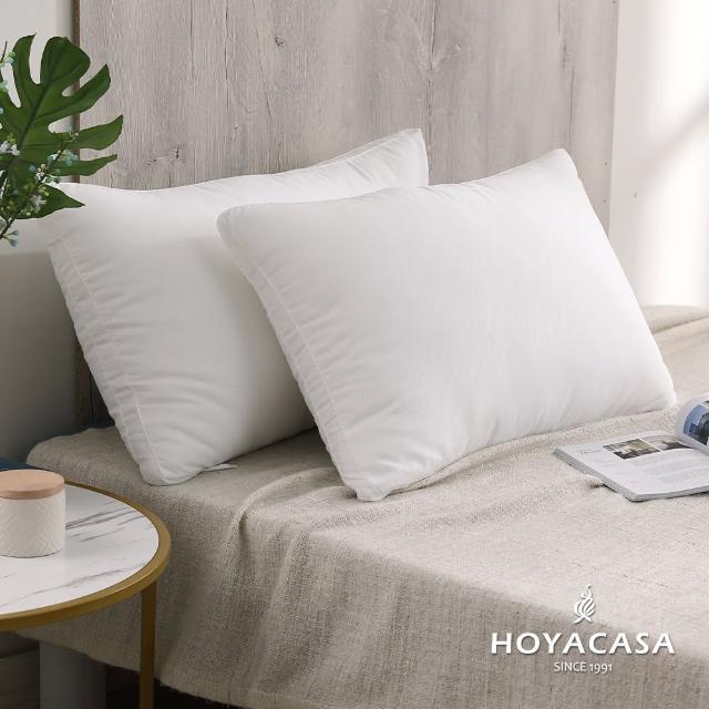 【HOYACASA】羽絲絨纖維枕(一入)