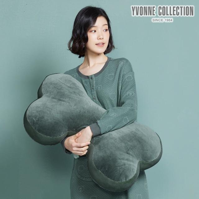 【Yvonne Collection】拼接大骨頭抱枕(夜幕綠)
