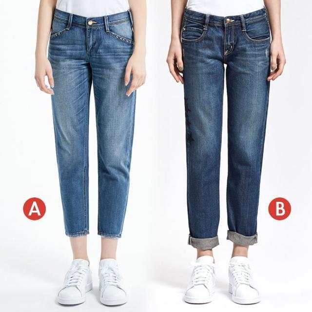 【BRAPPERS】女款 八分反摺褲(多款選)
