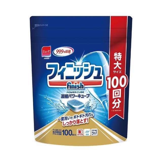 【日本FINISH】洗碗機專用洗碗錠-100錠入(日本境內MUSE共同開發)