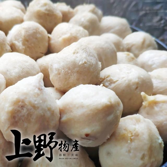 【上野物產】脆爽可口台灣鱈魚丸 x10包(240g±10%/約20顆/包)