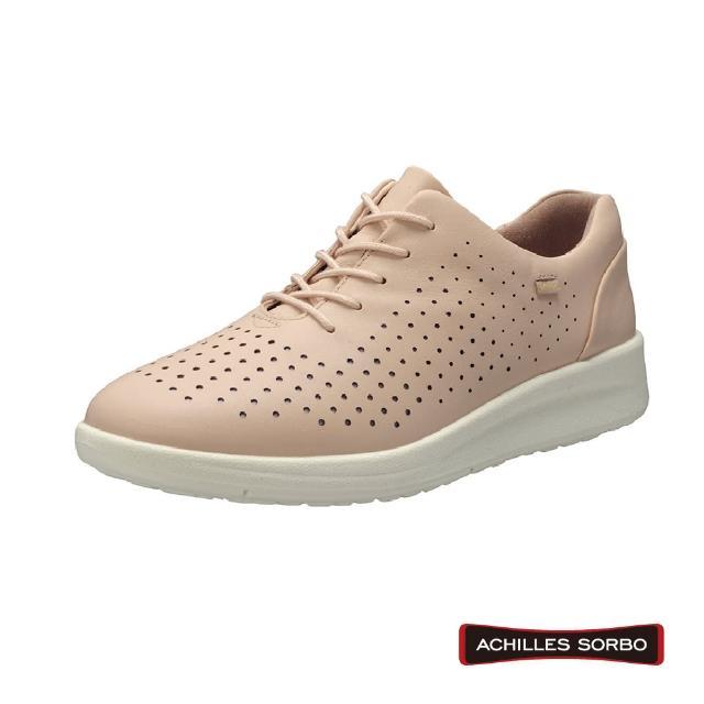 【A.S.O 阿瘦集團】ACHILLES SORBO 雷射沖孔造型足底筋膜舒緩健康鞋-ASC4940(粉紅)