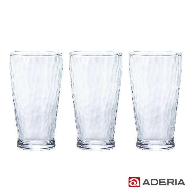 【ADERIA】日本進口泡泡玻璃杯300ml(3入組)