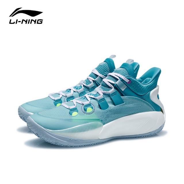 【LI-NING 李寧】音速9 Low籃球專業比賽鞋 純淨藍/蝴蝶藍(ABAR039-6)