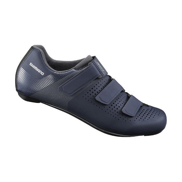 【SHIMANO】RC100 男款性能型公路車鞋 標準楦 海軍藍色