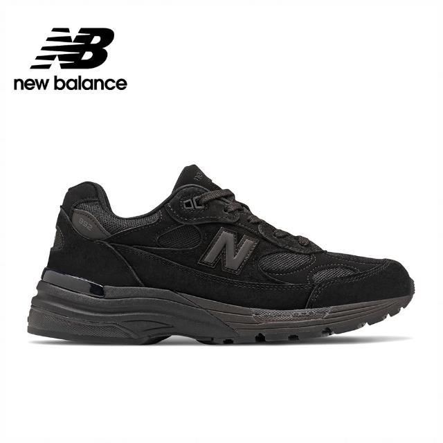 【NEW BALANCE】NB 英美製復古運動鞋_男鞋/女鞋_黑色_M992EA-D楦