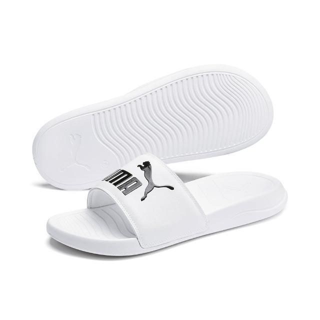 【PUMA】拖鞋 男鞋 女鞋 運動 POPCAT 20 白 37227902
