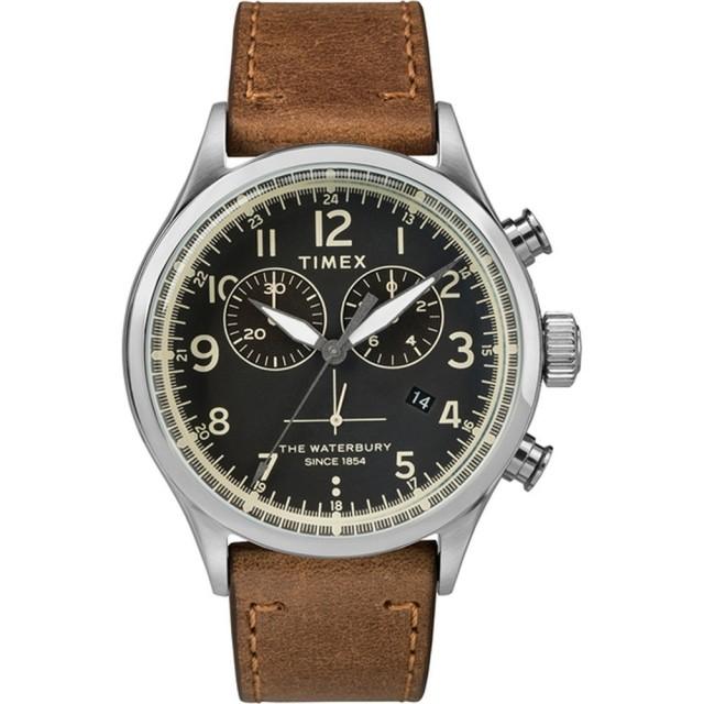 【TIMEX】刻劃時代計時皮帶腕錶(TW2R70900)