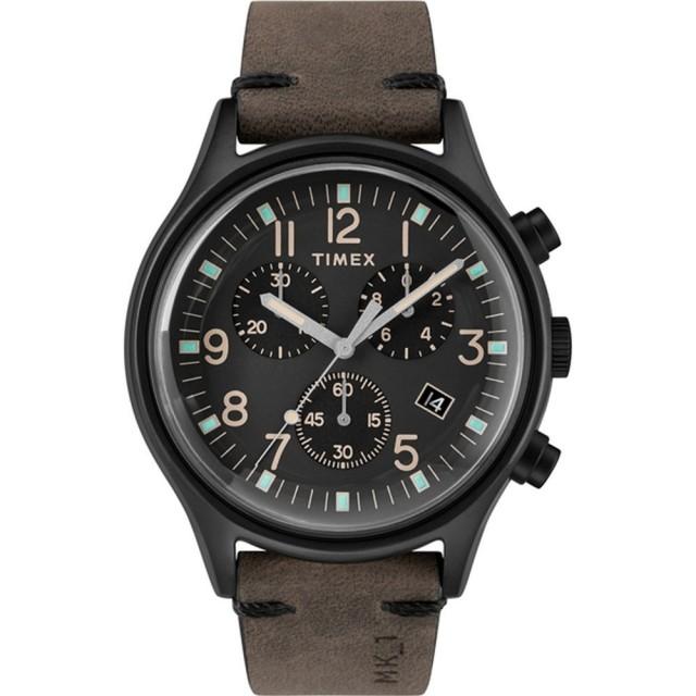 【TIMEX】沙漠風暴計時皮帶腕錶(TW2R96500)