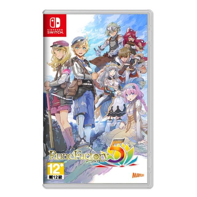 【Nintendo 任天堂】預購9/2發售★Switch 符文工廠 5 中文一般版(贈卡夾盒)