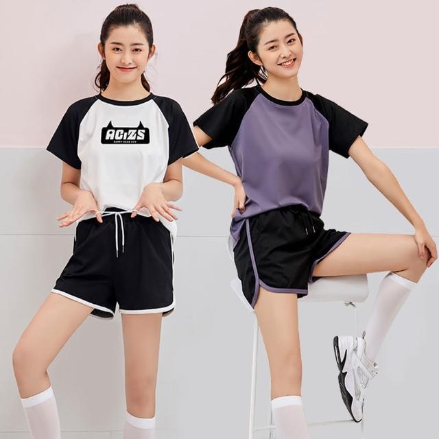 【Pure 衣櫃】韓系時尚運動居家兩用套裝(簡約/舒適/百搭/KDA-222)