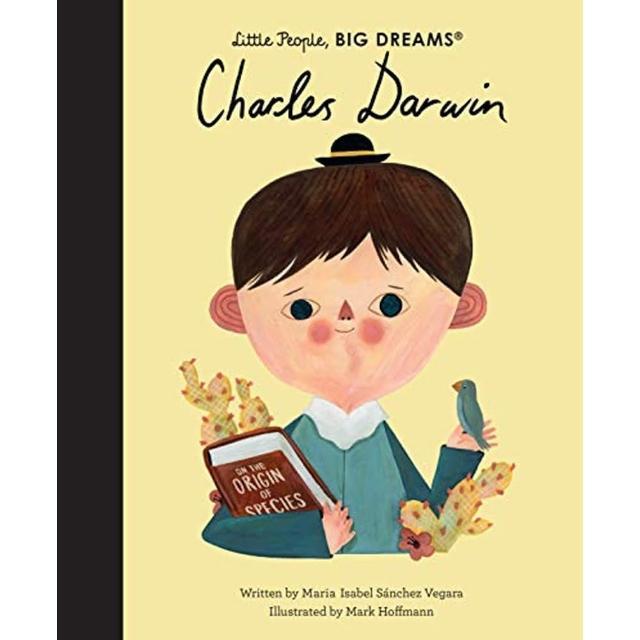 【Song Baby】Little People Big Dreams:Charles Darwin 小人物大夢想:查爾斯☆達爾文(精裝繪本)