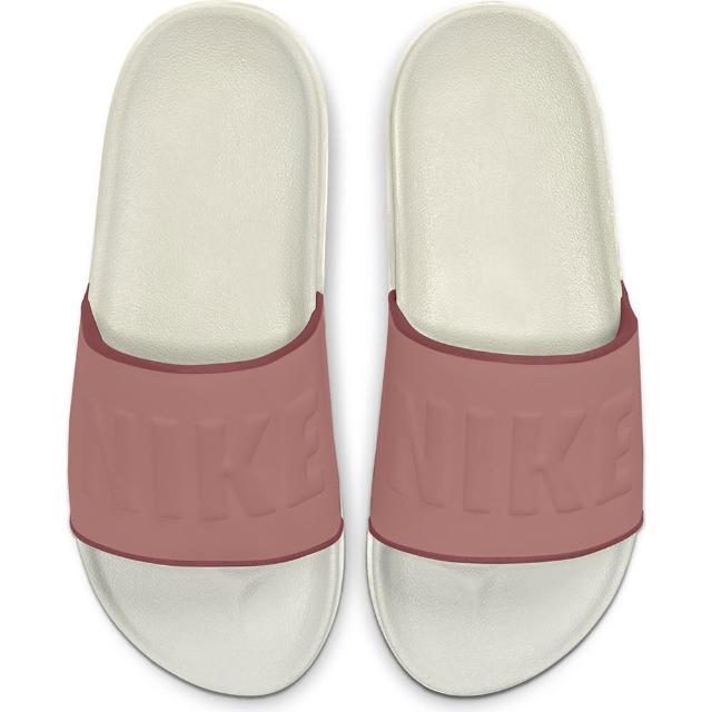 【NIKE 耐吉】拖鞋 女鞋 運動 WMNS OFFCOURT SLIDE 粉 BQ4632-104