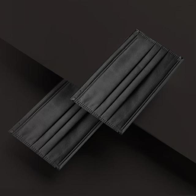 【佳和】成人醫用口罩 時尚經典-酷炫黑(50入/雙鋼印)