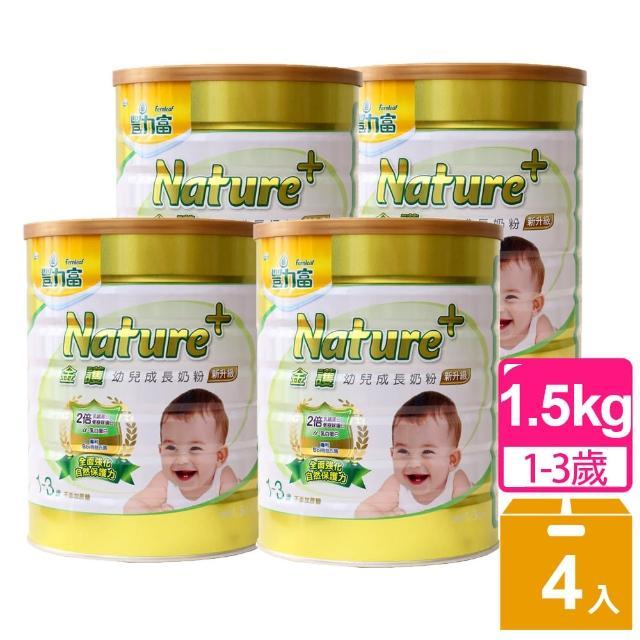 【豐力富】1-3歲金護幼兒成長奶粉4入組(1.5kg*4)