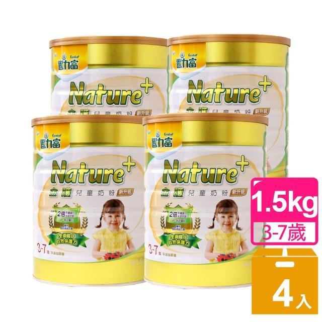 【豐力富】3-7歲金護兒童奶粉4入組(1.5kg*4)