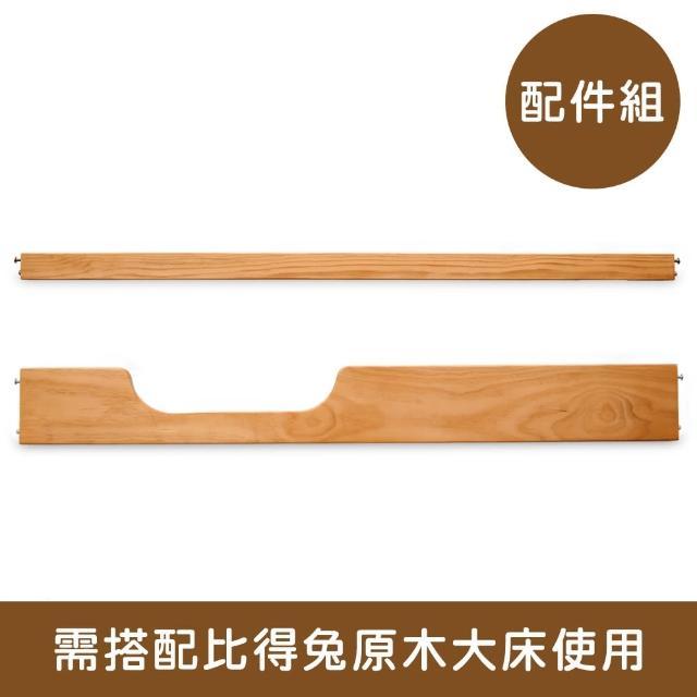 【奇哥】比得兔原木大床成長配件組(床護板、沙發拉檔)