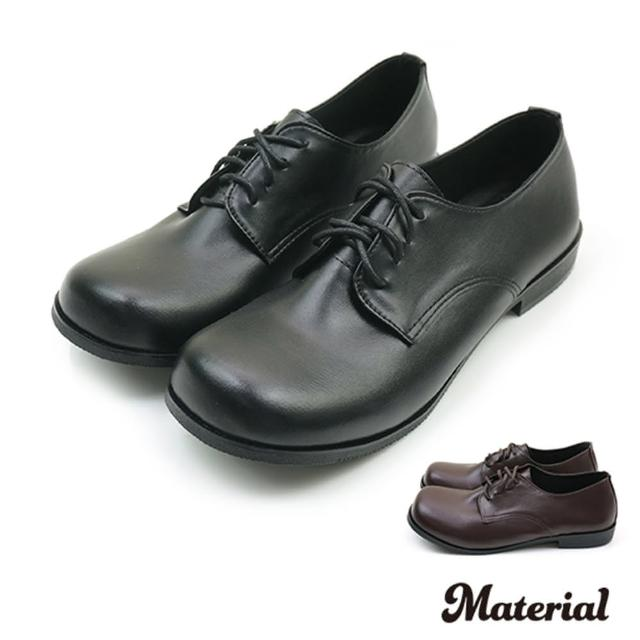 【MATERIAL】包鞋 圓頭綁帶圓頭鞋 MA女鞋 T3524(平底鞋)