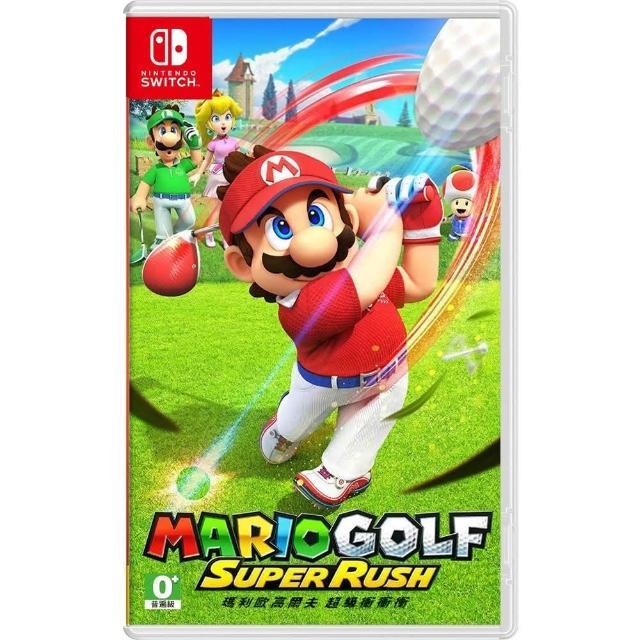 【Nintendo 任天堂】Switch 瑪利歐高爾夫 超級衝衝衝(中文版)