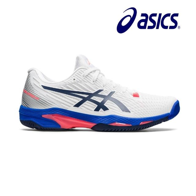 【asics 亞瑟士】SOLUTION SPEED FF 2 女網球鞋(1042A136-102)