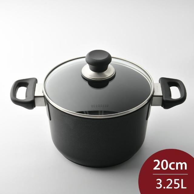 【SCANPAN】CLASSIC 雙耳不沾湯鍋 含蓋 20cm 3.25L 電磁爐不可用